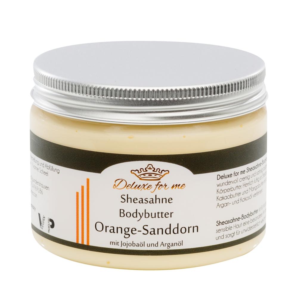 Bodybutter-Sheasahne Orange-Sanddorn vegan