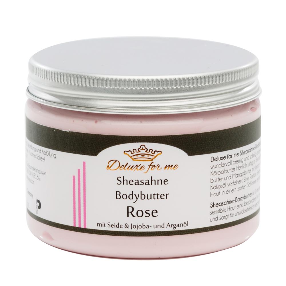 Bodybutter-Sheasahne Rose