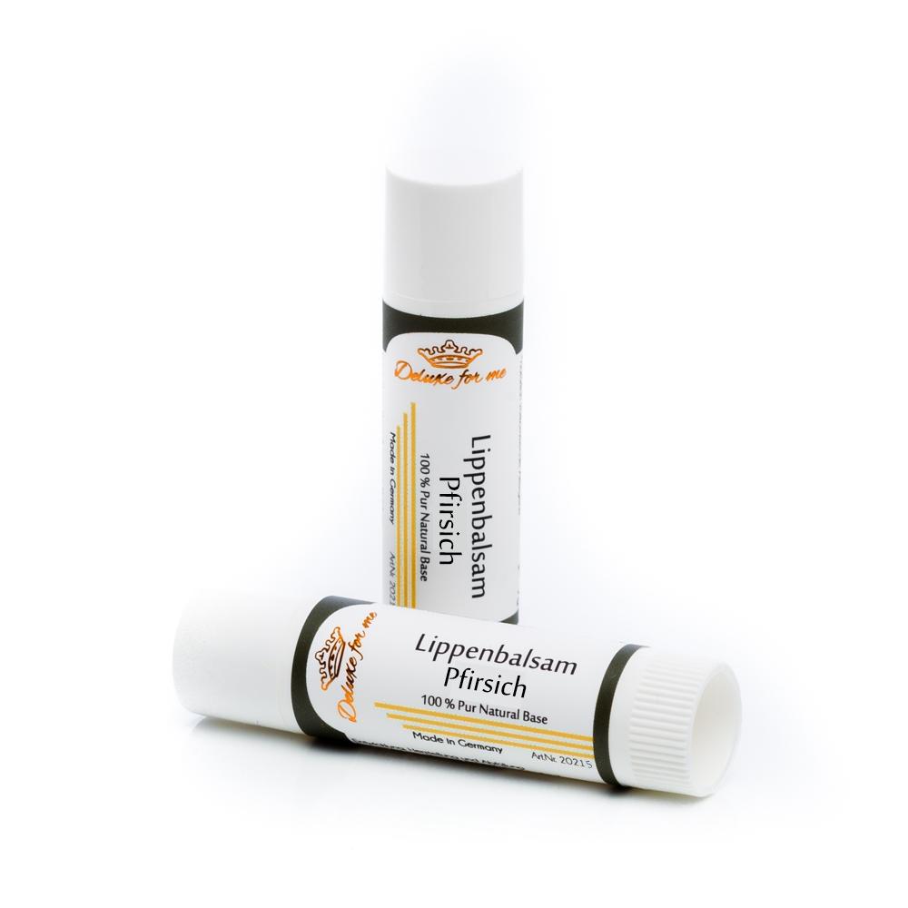 Lippenbalsam Pfirsich