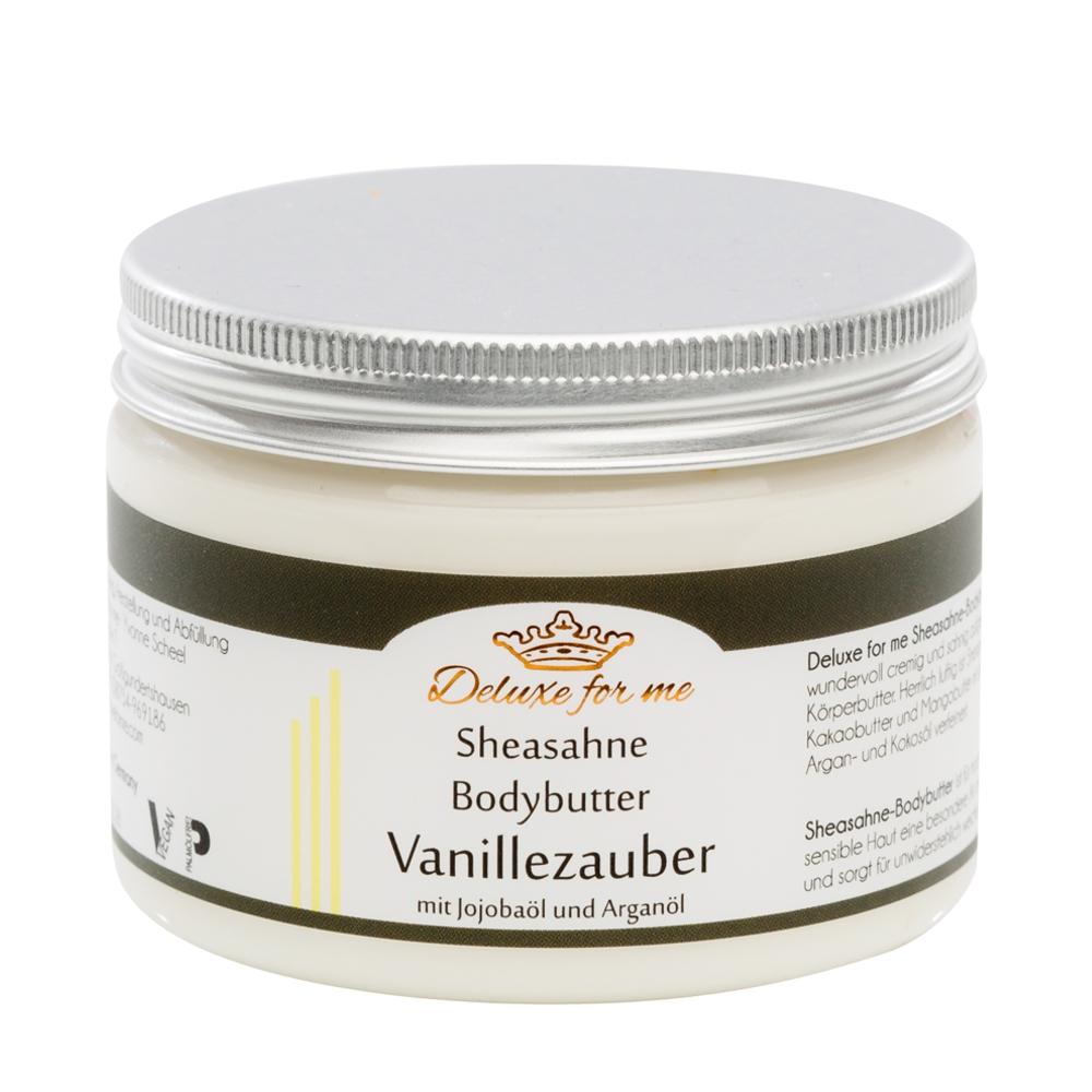 Bodybutter-Sheasahne Vanille vegan