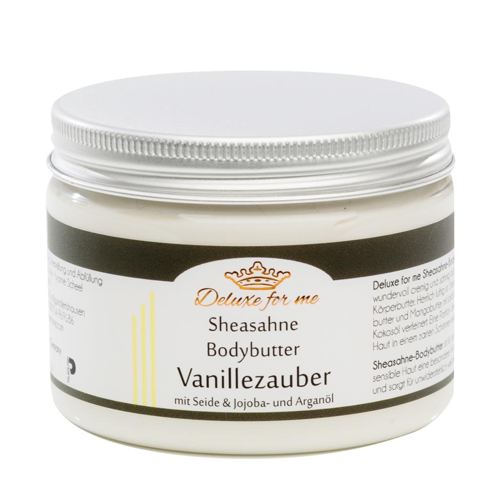 Bodybutter-Sheasahne Vanille