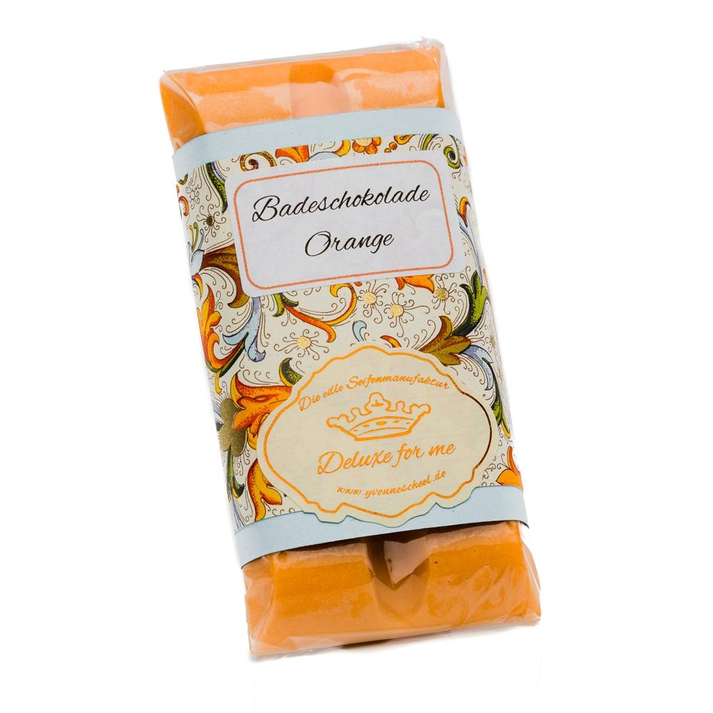 Badeschokolade Orange 30g