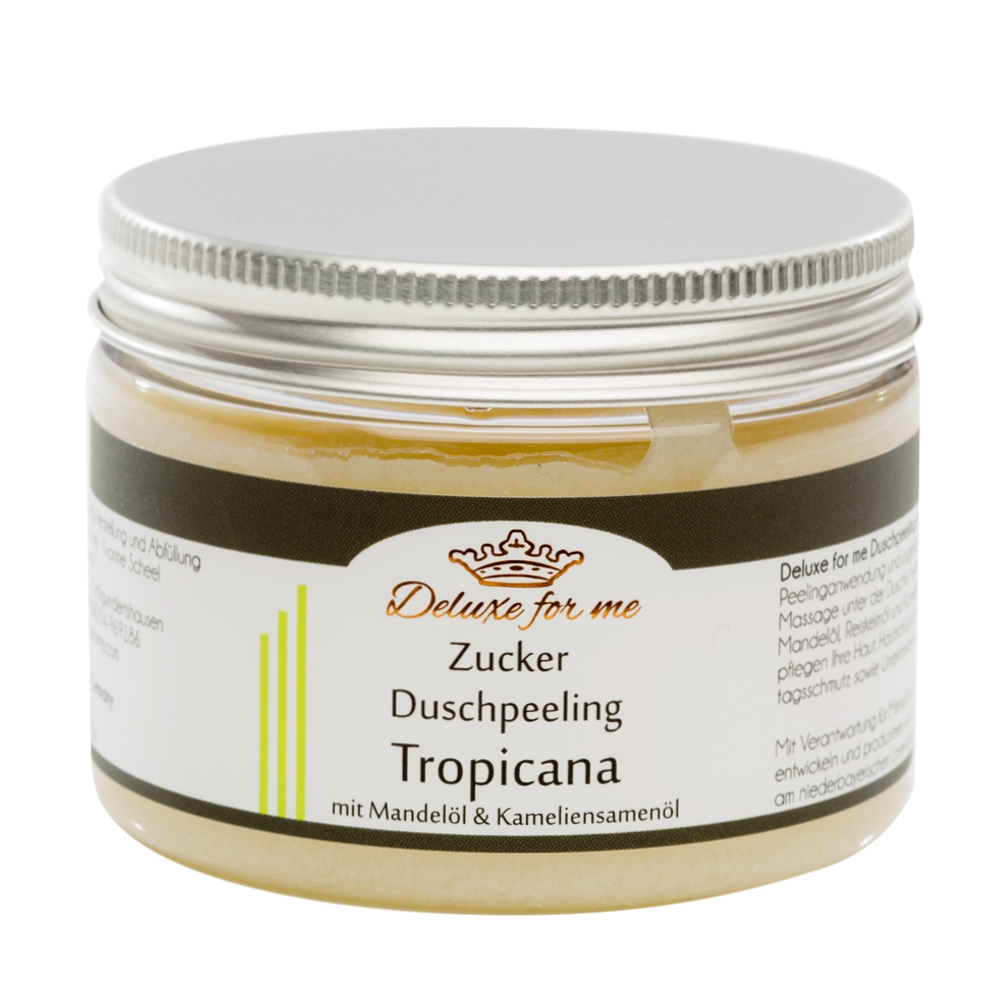 Zucker Duschpeeling Tropicana